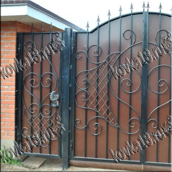 металлическая вороты