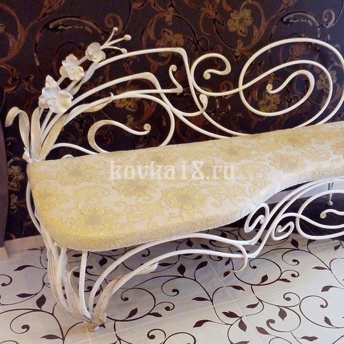 Кованый диван образец №1