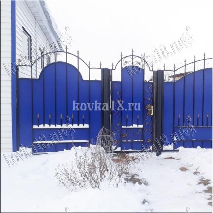 Ворота Виноградная лоза эконом
