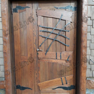 Дверные элементы кованые