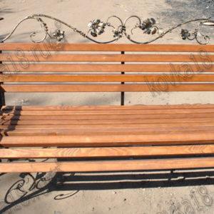 кованые скамейки для дачи