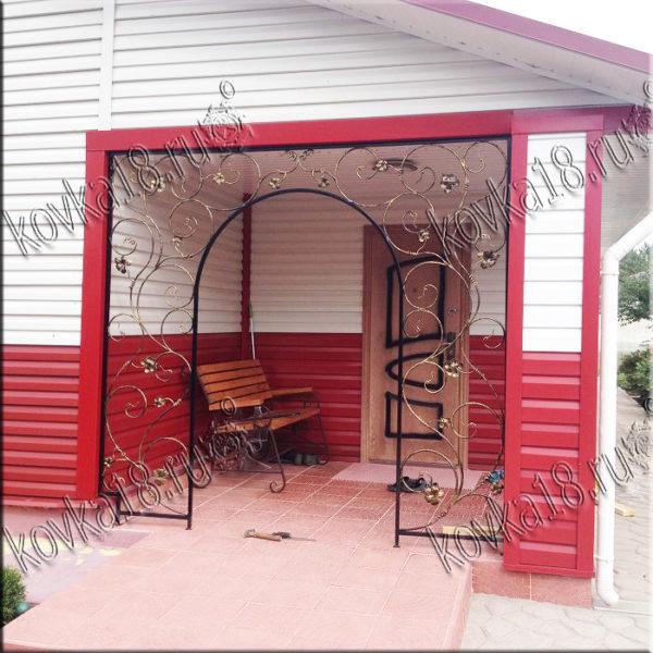 кованые изделия для сада и дачи